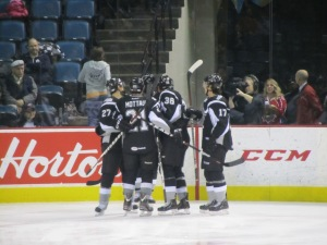 Rampage Goal Celebration (Photo by Amanda Land).