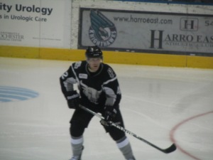 Evan Barlow of the San Antonio Rampage (photo by Amanda Land)