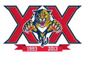 Florida Panthers' 20th Anniversary Logo (Florida Panthers)