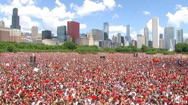 chicago celebrates