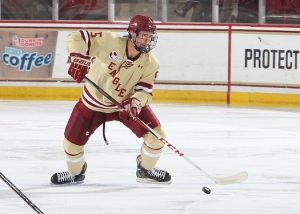 Mike Matheson (John Quackenbos/Boston College Media Relations)