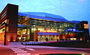 The Wild will play their home games at the Wells Fargo Arena in Des Moines (Iowa Wild)