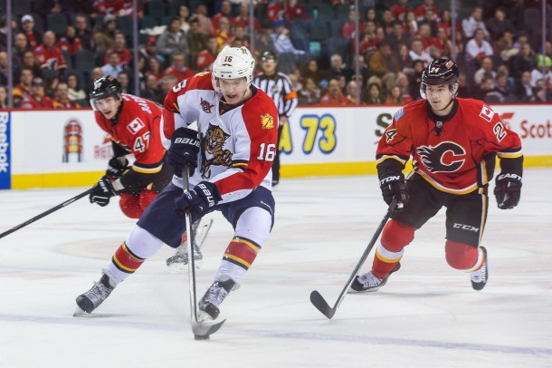 Aleksander Barkov  (Mandatory Credit: Sergei Belski-USA TODAY Sports)