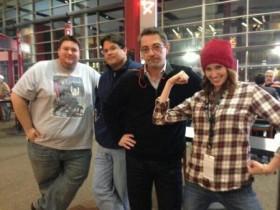 Josh, Dave, Frank & Paige